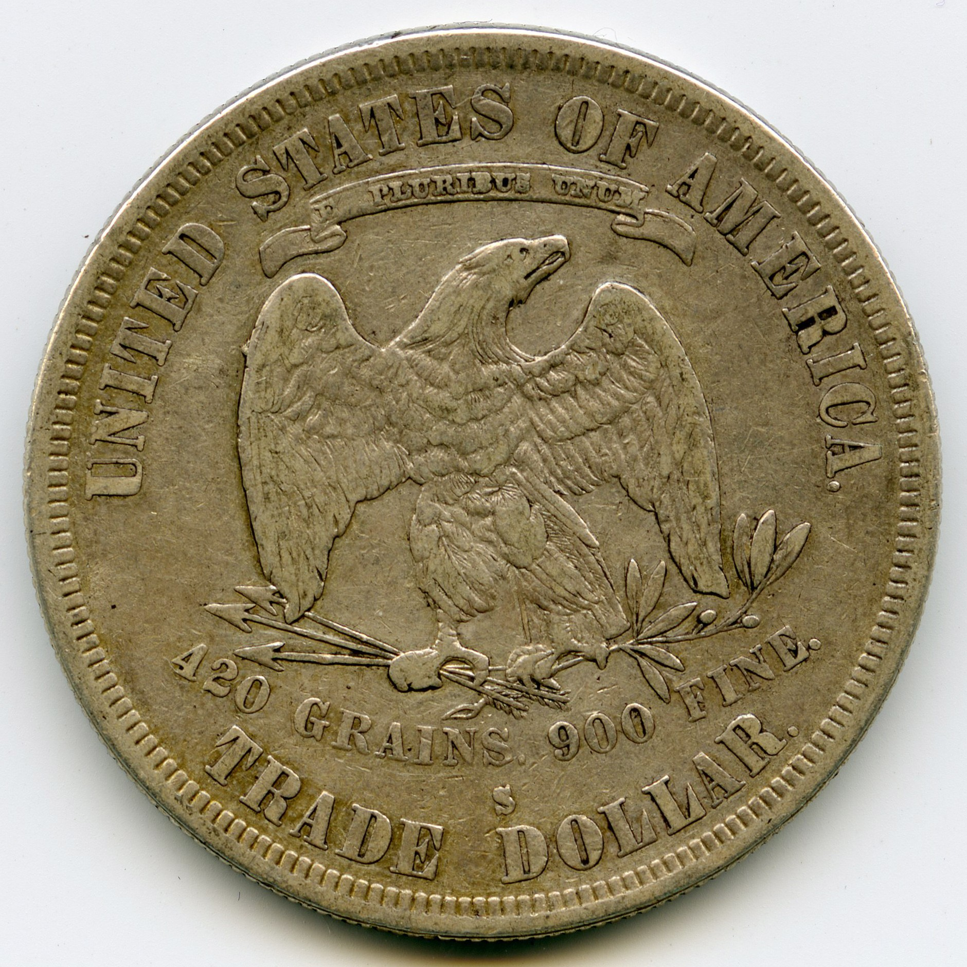 USA - Trade Dollar - 1878 S revers