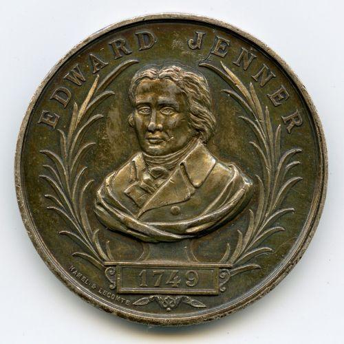 Edward Jenner Medaille 1894 avers x1 Serveur Cloud Géré Aws Et Gcp