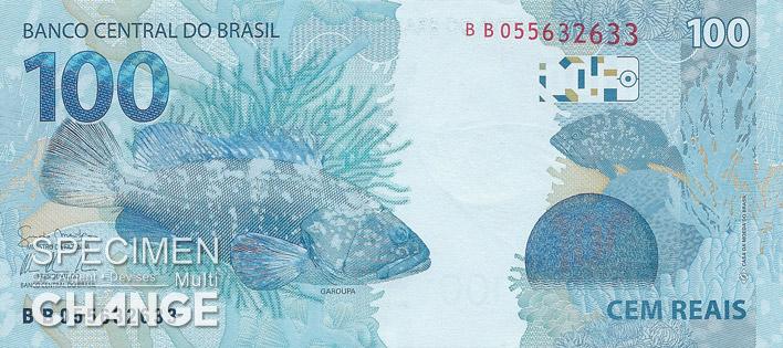 100 réaux brésiliens  (BRL)