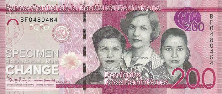 200 pesos dominicains (DOP)