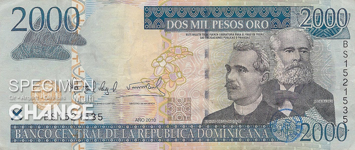 2000 pesos dominicains (DOP)