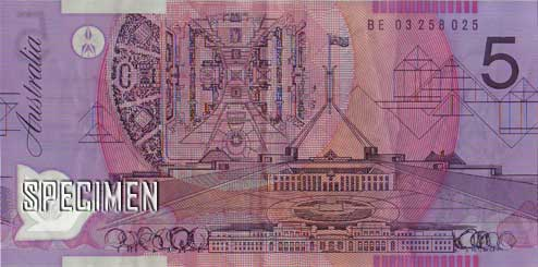 5 dollars australiens (AUD)