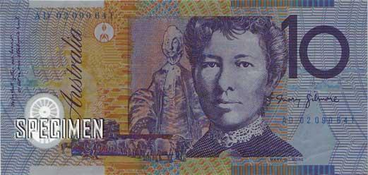 10 dollars australiens (AUD)