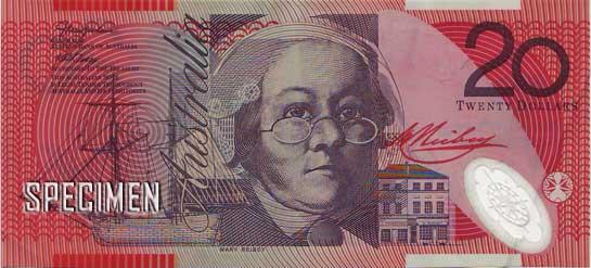 20 dollars australiens (AUD)