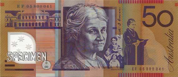 50 dollars australiens (AUD)