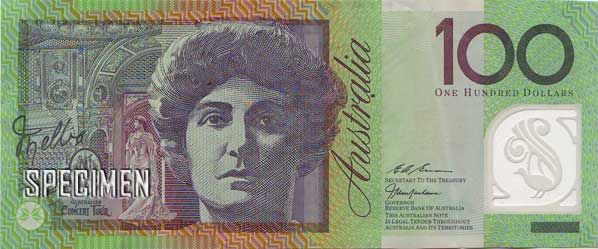 100 dollars australiens (AUD)
