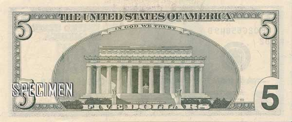 5 dollars américains (USD)