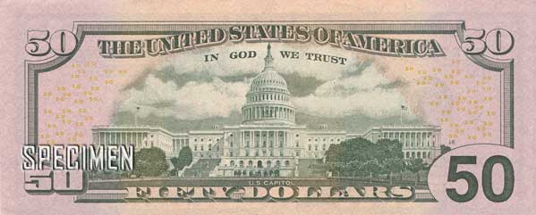 50 dollars am�ricains (USD)
