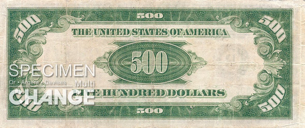 500 dollars am�ricains (USD)