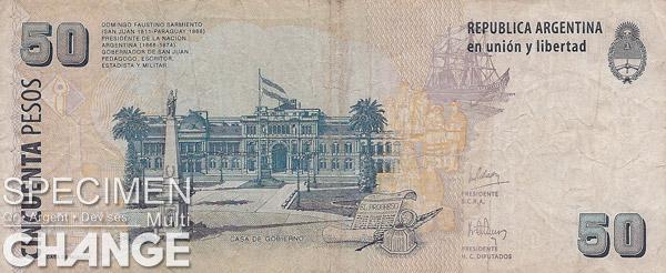 50 pesos argentins (ARS)