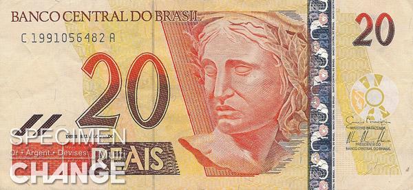 20 réaux brésiliens (BRL)