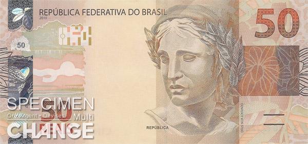 50 réaux brésiliens  (BRL)