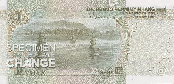 1 yuan chinois (CNY)