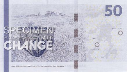 50 couronnes danoises (DKK)