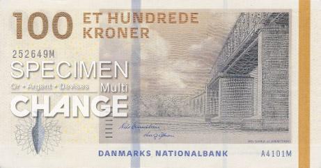 100 couronnes danoises (DKK)