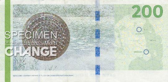 200 couronnes danoises (DKK)