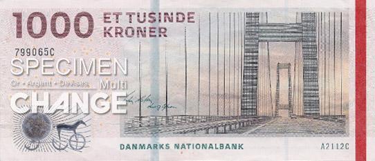 1.000 couronnes danoises (DKK)