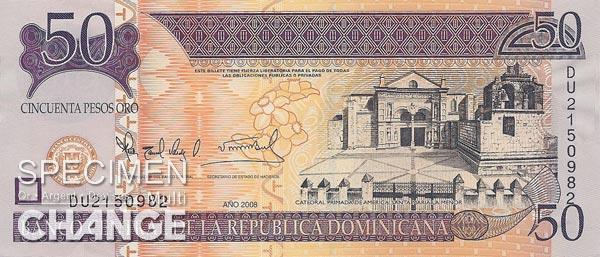 50 pesos dominicains (DOP)