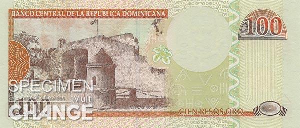 100 pesos dominicains (DOP)