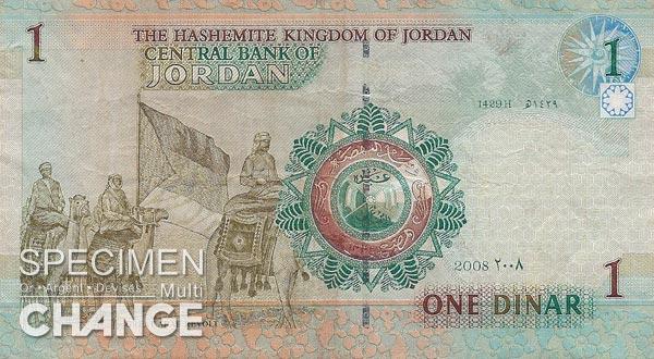 1 dinar jordanien (JOD)