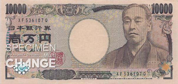 10.000 yens japonais (JPY)