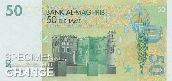 50 dirhams marocains (MAD)