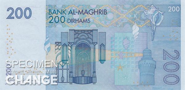 200 dirhams marocains (MAD)