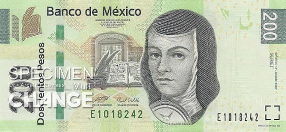 200 pesos mexicains (MXN)