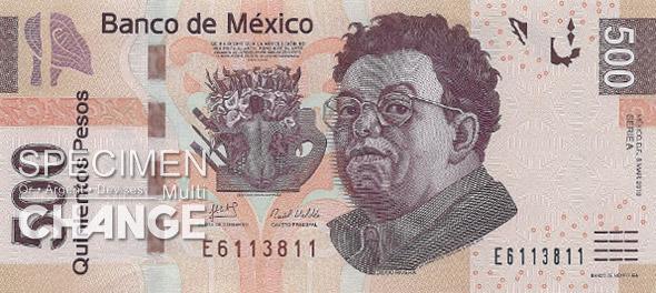 500 pesos mexicains (MXN)