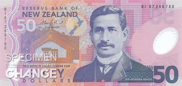 50 dollars néo-zélandais (NZD)