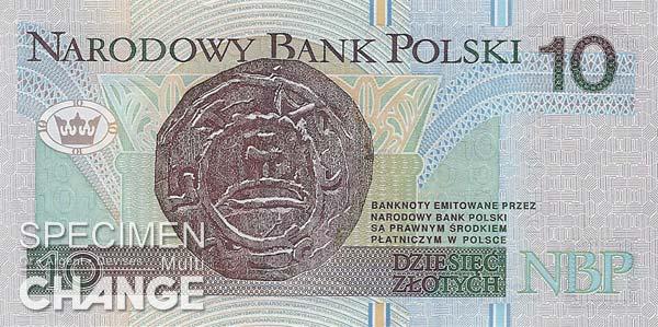 10 złoty polonais (PLN)