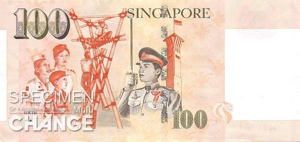 100 dollars singapouriens (SGD)