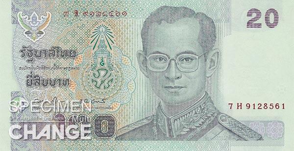 Baht thailandais (THB)