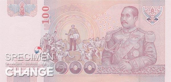 100 bahts thailandais (THB)