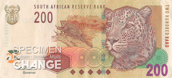 200 rands sud-africains (ZAR)