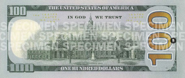 La Toute Nouvelle Tendance En Matière De Conception Graphique Du Nouveau Billet 100 Dollars Américain